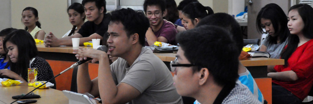 NCPAG Students in a forum