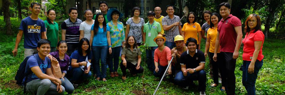 Treeplanting in celebration of NCPAG's  62nd anniversary