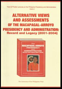 Macapagal-Aroyo Presidency Alternative Views