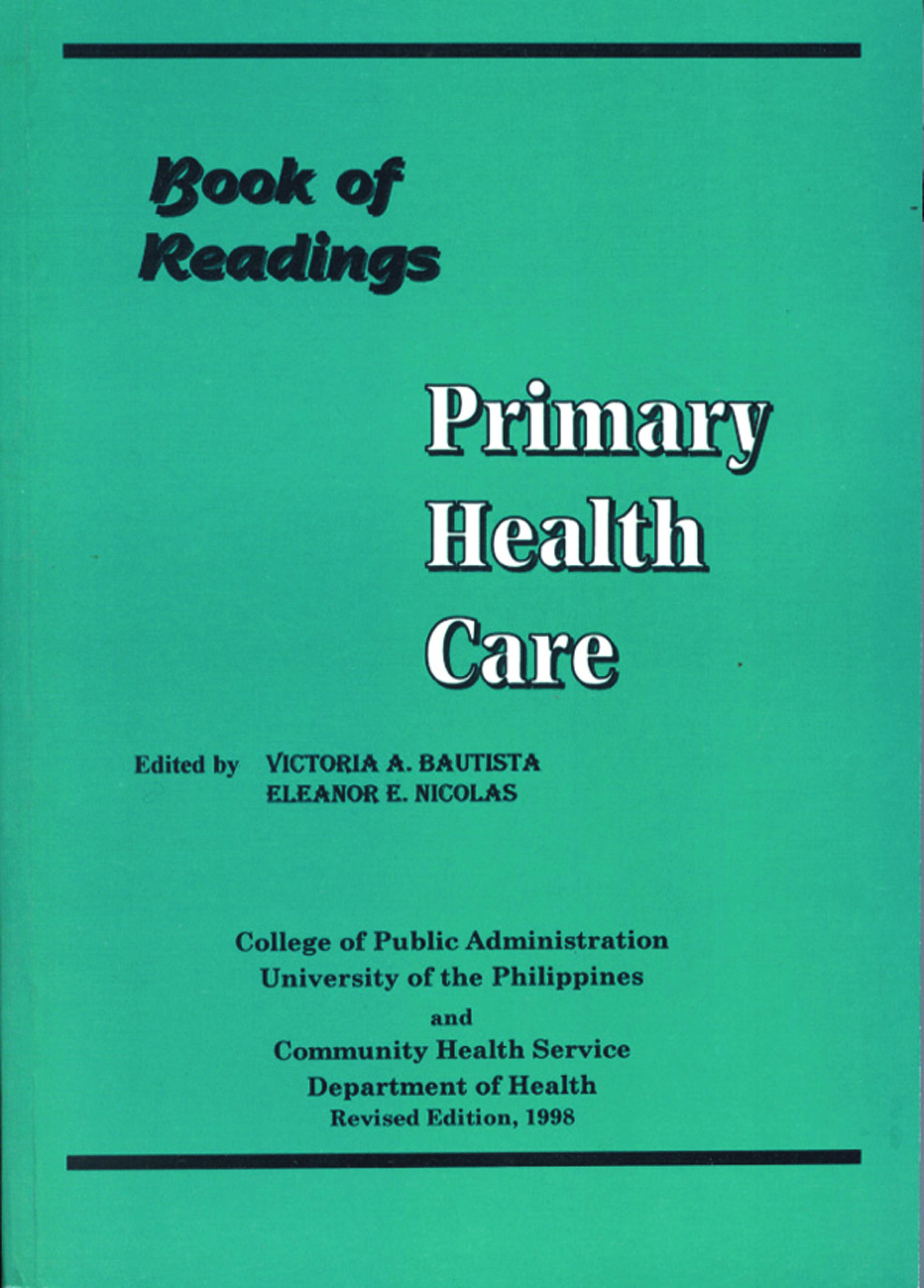 PHC Readings