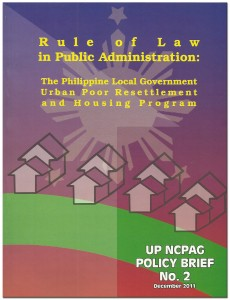 Rule of Law in PA - Policy Brief No 2