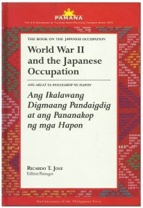 WWII and the Japanese Occupation