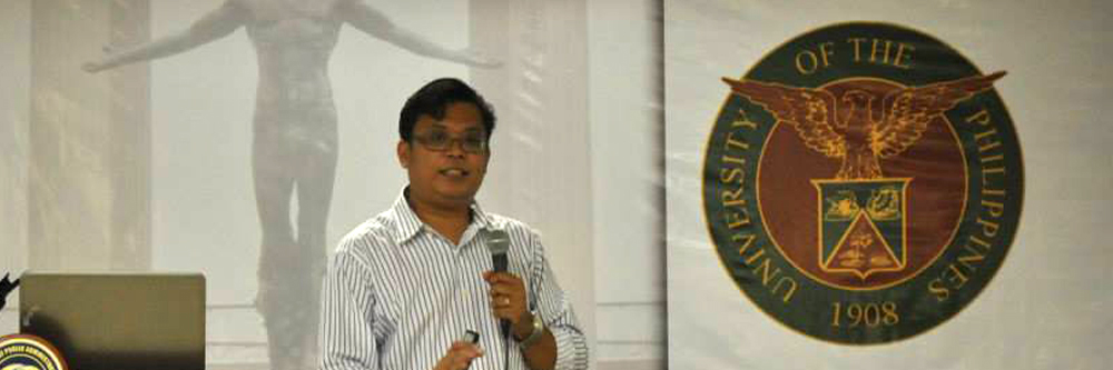 Visiting Professor Dr. Narag delivers a lecture on the state of penal administration in PH