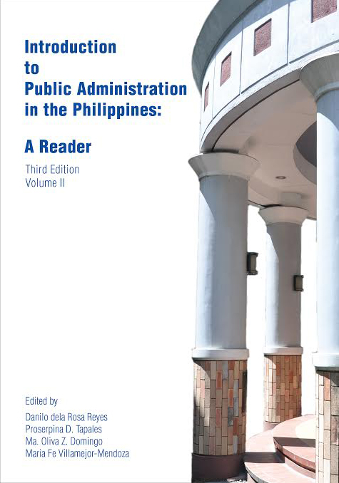 Introduction to Public Administration in the Philippines: A Reader (Volume 2)