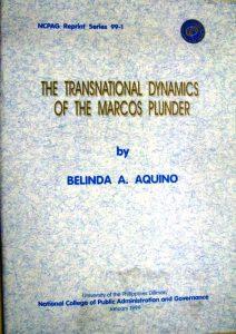 Transnational Dynamics of Marcos Plunder